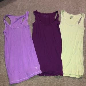 AEO LOT OF XS AND S TANKTOPS